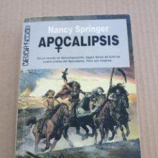 Libros de segunda mano: ULTRAMAR CIENCIA FICCION NANCY SPRINGER APOCALIPSIS. Lote 87562148