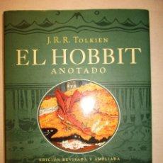 Libros de segunda mano: EL HOBBIT - ANOTADO - EDICION REVISADA Y AMPLIADA - IUSTRADA / MINOTAURO. Lote 87573732