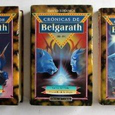 CRÓNICAS DE BELGARATH 3 TOMOS QUE RECOGEN LAS PARTES 1, 2, 3, 4 Y 5