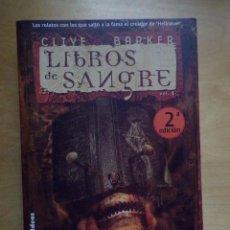 Libros de segunda mano: LIBROS DE SANGRE VOLUMEN 1 - CLIVE BARKER (LA FACTORÍA DE IDEAS). Lote 88896032