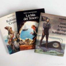 Libros de segunda mano: LOTE 3 CLÁSICOS ILUSTRADOS. PLAZA JOVEN 1988. Lote 89796960