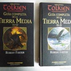Libros de segunda mano: GUIA COMPLETA DE LA TIERRA MEDIA : (A-G) Y (H-Z) (COL. BIBLIOTECA TOLKIEN) / FOSTER, ROBERT. Lote 89798988