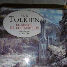 Libros de segunda mano: EL SEÑOR DE LOS ANILLOS-ILUSTRADO POR ALAN LEE-EDICIÓN ESPECIAL CONMEMORATIVA.. Lote 90030400