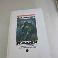 Libros de segunda mano: NOVA CIENCIA FICCION RADIX ATTANASIO. Lote 90119552