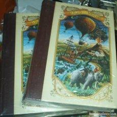 Libros de segunda mano: LA ESFINGE DE LOS HIELOS,2 TOMOS , JULIO VERNE . IMPECABLE SIN USO, TOTALMENTE PRECINTADOS DE ORIGEN. Lote 90351812