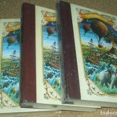 Libros de segunda mano: LA ISLA MISTERIOSA, ,3 TOMOS , JULIO VERNE .TOTALMENTE PRECINTADOS DE ORIGEN. Lote 90352464