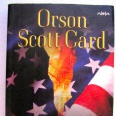 Libros de segunda mano: ORSON SCOTT CARD. IMPERIO. EDICIONES B. 1ª EDICION.. Lote 90468299