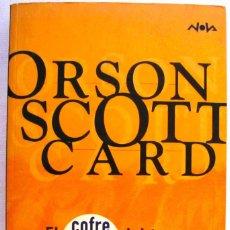 Libros de segunda mano: ORSON SCOTT CARD. EL COFRE DEL TESORO. NOVA EDICIONES. 1ª EDICIÓN 1999.. Lote 90636600