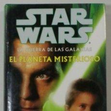 Libros de segunda mano: STAR WARS. EL PLANETA MISTERIOSO. GREG BEAR. MARTÍNEZ ROCA 2000. BUEN ESTADO. Lote 104397960