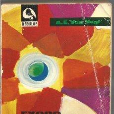 Libros de segunda mano: A.E. VAN VOGT. EXODO ESTELAR. EDHASA. Lote 91406040