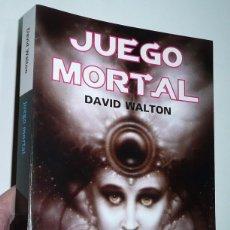 Libros de segunda mano: JUEGO MORTAL - DAVID WALTON (LA FACTORÍA DE IDEAS, 2012). Lote 70022861
