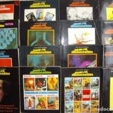 Libros de segunda mano: NUEVA DIMENSIÓN. COLECCIÓN DE FANTASÍA Y CIENCIA FICCIÓN. Nº: 13,14,15,16,17,18,19,20,21,23,25. Lote 92298240