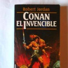 Livres d'occasion: CONAN EL INVENCIBLE. ROBERT JORDAN. SERIE CONAN 7. EDITORIAL MARTÍNEZ ROCA. Lote 92795405