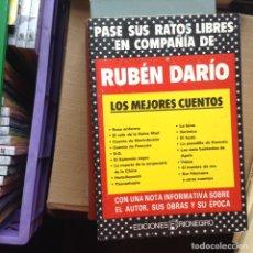Libros de segunda mano: RUBÉN DARÍO. LOS MEJORES CUENTOS. Lote 92889232