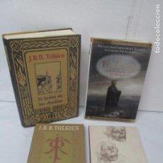 Libros de segunda mano - J. R.R TOLKIEN. EL SEÑOR DE LOS ANILLOS. APENDICE. GOLLUM CON DVD. LOS HIJOS DE HURIN. 4 LIBROS - 93625260