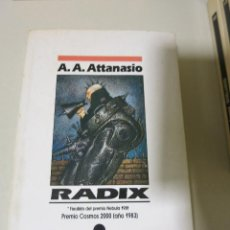 Libros de segunda mano: NOVA CIENCIA FICCION RADIX ATTANASIO. Lote 93905785