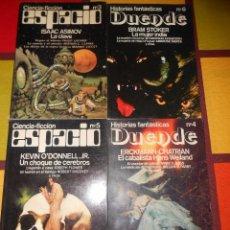 Libros de segunda mano: CIENCIA FICCIÓN ESPACIO E HISTORIAS FANTÁSTICAS DUENDE.. Lote 93942160