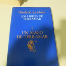 Libros de segunda mano: CIENCIA FICCION UN MAGO DE TERRAMAR URSULA K LEGUIN MINOTAURO. Lote 94538527