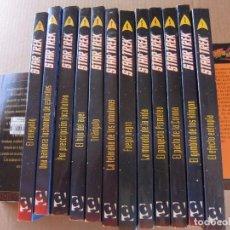Libros de segunda mano: NOVELAS STAR TREK SERIE CLÁSICA, Nº 1 AL 12. EDITORIAL. GRIJALBO.. Lote 94557727