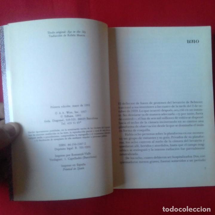 Libros de segunda mano: UN OJO EN EL CIELO. PHILIP K. DICK. EDHASA CLASICOS NEBULAE 1991. 1º EDICIÓN - Foto 3 - 94817323