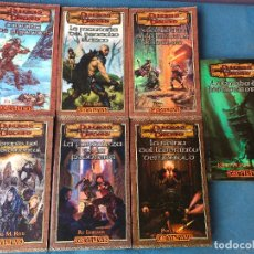 Libros de segunda mano: COLECCION DE DUNGEOS & DRAGONS GREYHAWK EN CASTELLANO - LOS 7 NUMEROS PUBLICADOS. Lote 95219427
