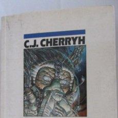 Libros de segunda mano: EL REGRESO DE CHANUR DE C.J. CHERRYH (EDICIONES B). Lote 95765471