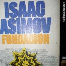 Libros de segunda mano: FUNDACIÓN, ISAAC ASIMOV, ED. BRUGUERA. Lote 95954743