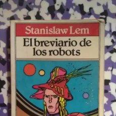 Libros de segunda mano: EL BREVIARIO DE LOS ROBOTS - STANISLAW LEM. Lote 95955467