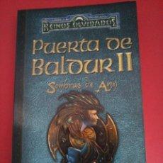 Libros de segunda mano: PUERTA DE BALDUR II - SOMBRAS DE AMN - REINOS OLVIDADOS - PHILIP ATHANS - TIMUN MAS - RÚSTICA. Lote 95955523