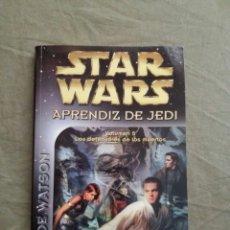 Libros de segunda mano: STAR WARS APRENDIZ DE JEDI VOL 5, LOS DEFENSORES DE LOS MUERTOS, ALBERTO SANTOS. Lote 146434462