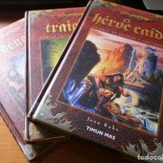 Libros de segunda mano: DRAGONLANCE - LA SAGA DE DHAMON - VOL. 1, 2, 3 - EL HÉROE CAÍDO, TRAICIÓN, REDENCIÓN - COMPLETA.. Lote 96293095