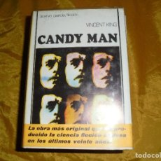 Libros de segunda mano: CANDY MAN. VICENT KING. EDITORIAL ACERVO, COL. CIENCIA FICCION. 1976. Lote 97111767