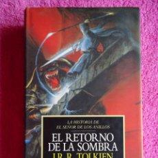 Libros de segunda mano: LA HISTORIA DE EL SEÑOR DE LOS ANILLOS 1 1993 MINOTAURO EL RETORNO DE LA SOMBRA 1ª EDICIÓN. Lote 97390059