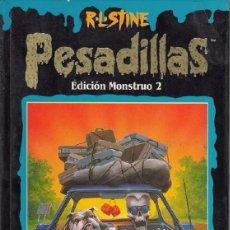Libros de segunda mano: PESADILLAS R. L. STINE EDICION MONSTRUO Nº 2 - EDICIONES B . Lote 97463319