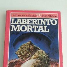 Libros de segunda mano: ALTEA JUNIOR- LUCHA FICCIÓN 6 - LABERINTO MORTAL. Lote 97786647