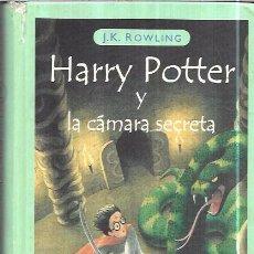 Libros de segunda mano: HARRY POTTER Y LA CÁMARA SECRTETA. J.K. ROWLING. EMECÉ EDITORES. 2000. Lote 98430903