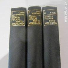 Livres d'occasion: CIENCIA FICCION NORTEAMERICANA, 3 VOLUMENES -NUMEROS I,II Y III- AGUILAR EDICIONES-. Lote 98611327