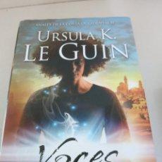 Libros de segunda mano: URSULA K LEGUIN VOCES MINOTAURO FANTASIA. Lote 98670895