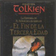 Libros de segunda mano: CHRISTOPHER TOLKIEN 4 EL FIN DE LA TERCERA EDAD. BIBLIOTECA TOLKIEN. PLANETA DEAGOSTINI MINOTAURO. Lote 98867623