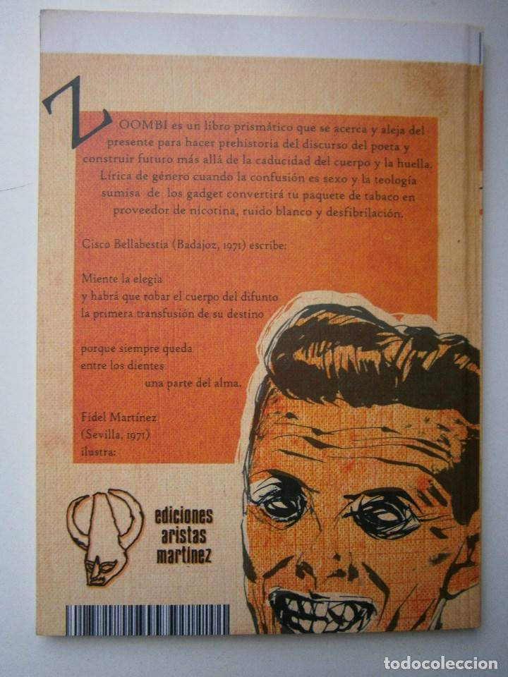 Libros de segunda mano: ZOOMBI CISCO BELLABESTIA Aristas Martinez 2010 - Foto 4 - 98982751