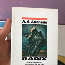 Libros de segunda mano: A.A. ATTANASIO. RADIX. NOVA EDICIONES B. Lote 99675023