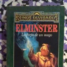 Livres d'occasion: ELMINSTER LA FORJA DE UN MAGO - ED GREENWOOD . Lote 99815507