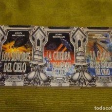 Libros de segunda mano: TRILOGÍA LOS SEÑORES DEL CIELO. JOHN BROSNAN (GRIJALBO. LA PUERTA DE PLATA) - 3 LIBROS. Lote 100222275