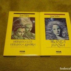 Libros de segunda mano: SAGA GUERRA DE LOS GÉNEROS. JANE YOLEN (EDICIONES B NOVA FANTASÍA) - TAPA DURA 2 LIBROS. Lote 100223351