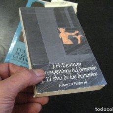 Libros de segunda mano: EDITORIAL ALIANZA - LOS ENGENDROS DEL DEMONIO 3 - EL SINO DE LOS DEMONIOS, LIBRO JUEGO. Lote 100884531