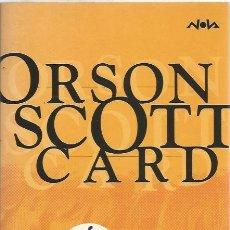 Libros de segunda mano: EL COFRE DEL TESORO - ORSON SCOTT CARD - NOVA 121 / EDICIONES B - MUY BUEN ESTADO. Lote 100924311
