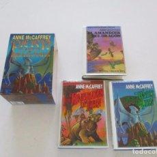 Libros de segunda mano: ANNE MCCAFFREY. PERN, PLANETA DE DRAGONES. TRES TOMOS. RM83951. . Lote 101348795