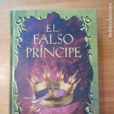 Libros de segunda mano: EL FALSO PRINCIPE - JENNIFER A. NIELSEN - ALFAGUARA - TAPA DURA (7L). Lote 101357283