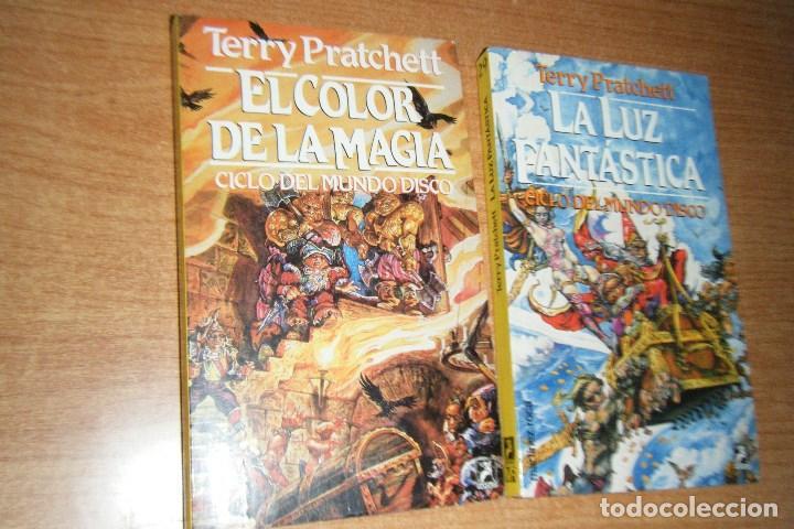 el color de la magia y luz fantastica mundodisc - Comprar Libros de ...