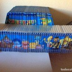 Libros de segunda mano: ENCICLOPEDIA COLECCIÓN (NUEVA)COMPLETA 45 TOMOS + 45 DVD TOTAL 90-2005 PLANETA AGOSTINI LOS LUNNIS. Lote 101649375